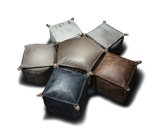 Four Six 456 Ottomans de Vibieffe | Poufs