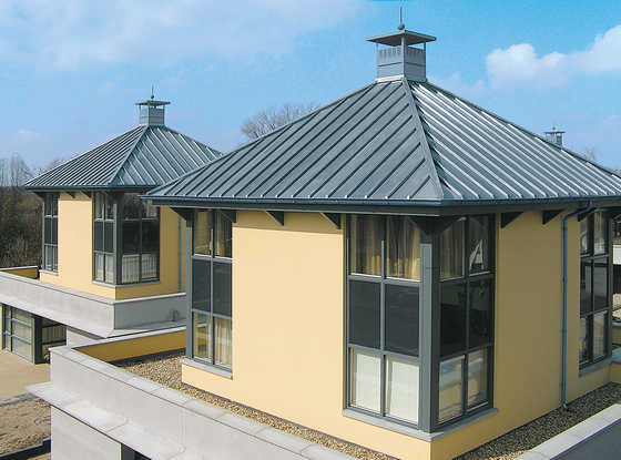 Roof covering | Click roll cap by RHEINZINK | Roofing systems