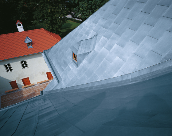Roof covering | Tiles by RHEINZINK | Roofing systems