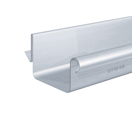 Roof drainage | Balcony plug-in gutter by RHEINZINK | Drainage systems