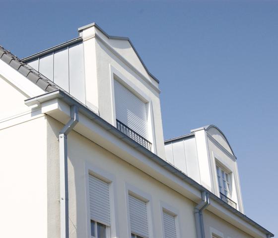 Roof drainage | Box shaped gutter by RHEINZINK | Box shaped gutters