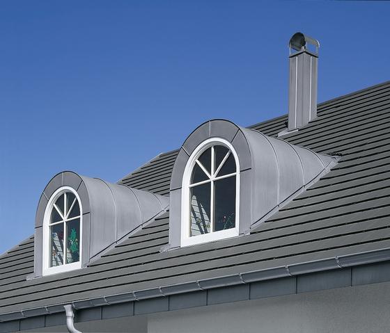 Architectural details | Dormers by RHEINZINK | Roof elements