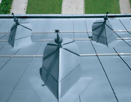 Architectural details   Dormers by RHEINZINK   Dormers