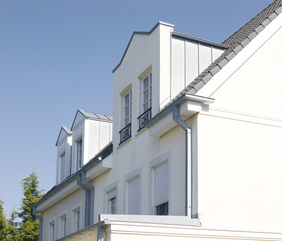 Architectural details | Dormers by RHEINZINK | Facade elements