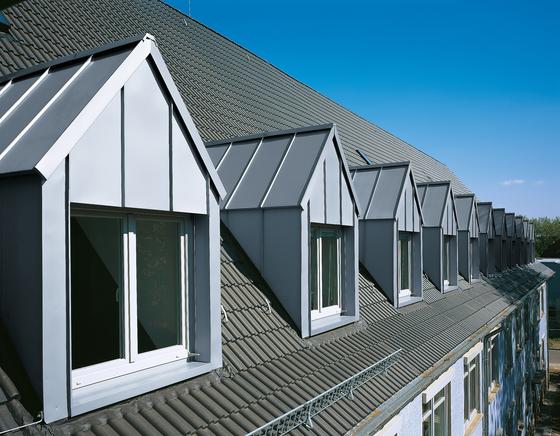 Architectural details | Dormers by RHEINZINK | Facade elements