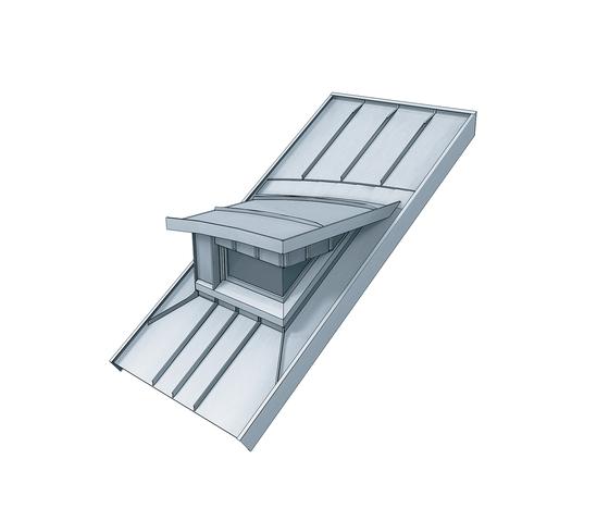 Architectural details | Dormers de RHEINZINK | Componentes para fachadas