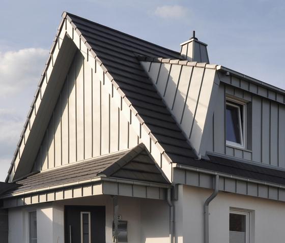Architectural details | Gable cladding by RHEINZINK | Gable cladding
