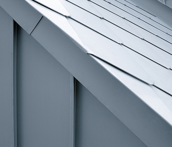 Architectural details | Gable cladding by RHEINZINK | Gable cladding