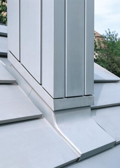 Architekturdetails | Kaminbekleidungen von RHEINZINK | Fassadenelemente