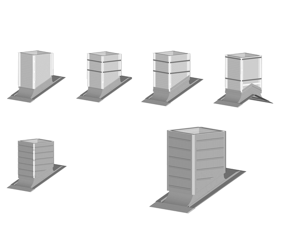 Architectural details | Chimney stacks by RHEINZINK | Chimney stacks