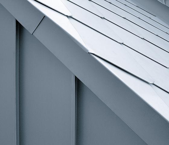 Architectural details | Roof edges & covers by RHEINZINK | Facade elements