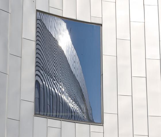 Falzsysteme | Winkelstehfalz von RHEINZINK | Fassadenkonstruktionen