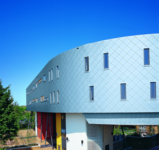 Seam systems | Tiles by RHEINZINK | Facade constructions