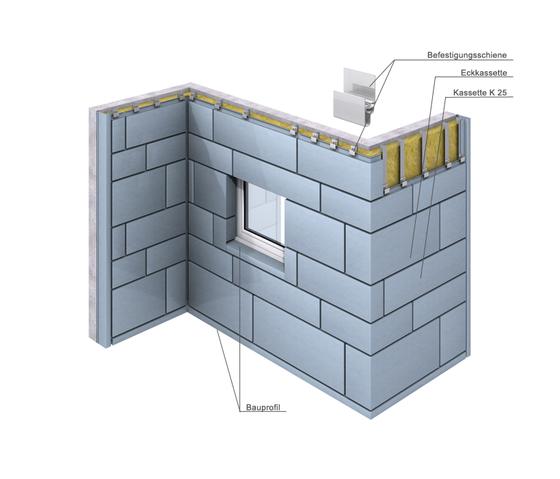 Cassette systems | Cassette K 25 by RHEINZINK | Facade constructions