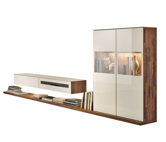 cubus zona soggiorno di team 7 cubus pareti attrezzate. Black Bedroom Furniture Sets. Home Design Ideas