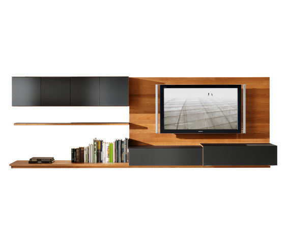 cubus wall storage system by TEAM 7 | Wall storage systems
