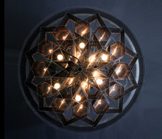 Mandala No.2 by Willowlamp | Chandeliers