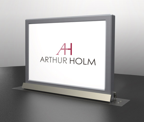 Dynamic 1 Twin by ARTHUR HOLM | Table integrated displays