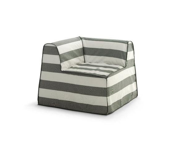 InOut 407 by Gervasoni | Garden armchairs