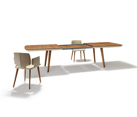 flaye extension table by TEAM 7 | Dining tables