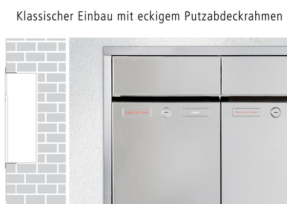 RENZ PLAN Unterputz-Montage by Renz | Mailboxes