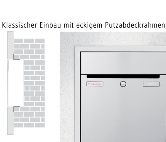 RENZ PLAN S Unterputz-Montage by Renz | Mailboxes