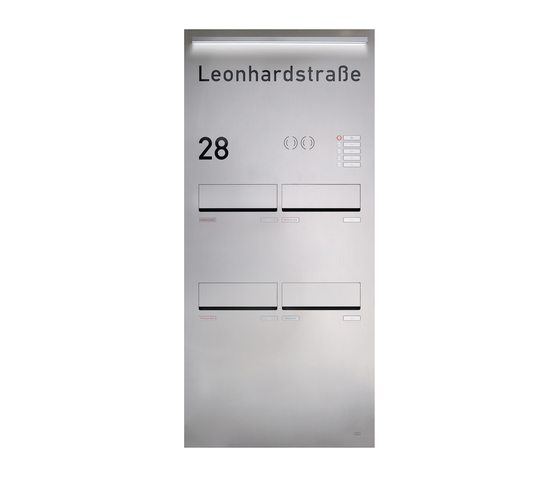 RENZ PLAN S Türseitenteil-Montage by Renz | Mailboxes
