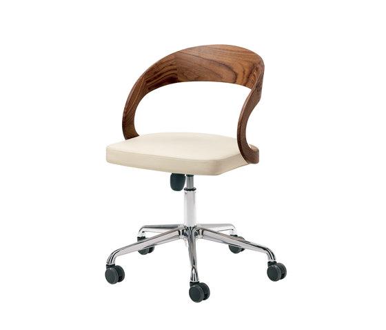 girado swivel chair by TEAM 7 | Task chairs