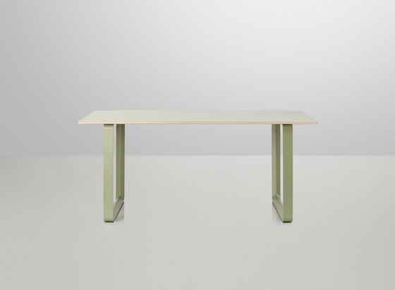 70/70 Dining Table | small by Muuto | Cafeteria tables