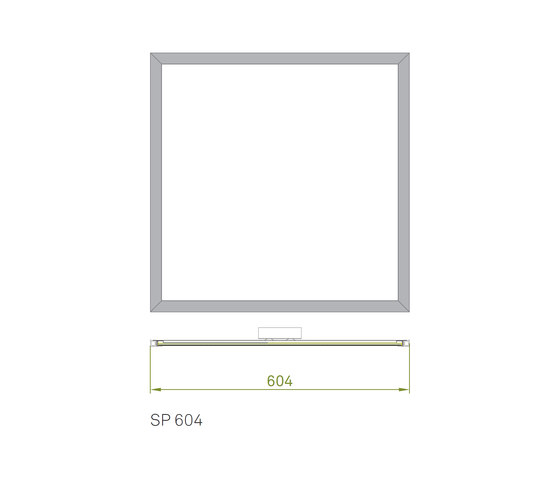 Slimpanel Standard SP 604 by Richter | General lighting