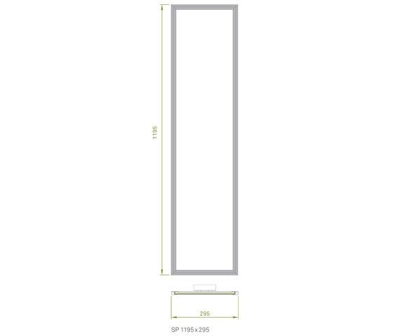 Slimpanel Standard SP 1195x295 by Richter | General lighting