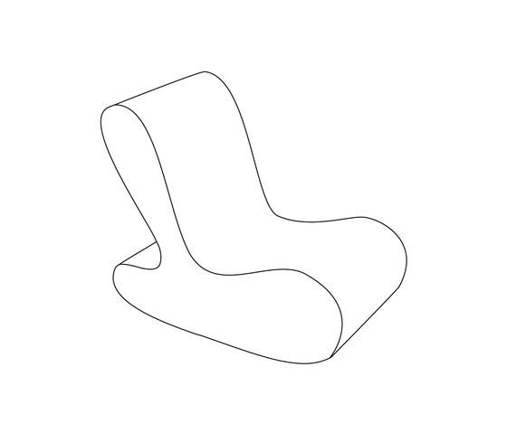 Soft Ruth & Flip - Ruth by David Trubridge | Lounge chairs