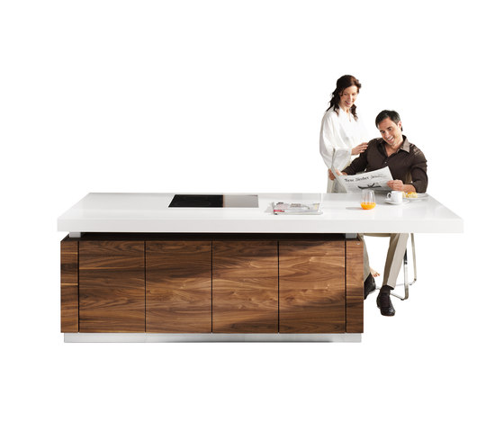 k7 cooking island by TEAM 7   Island kitchens