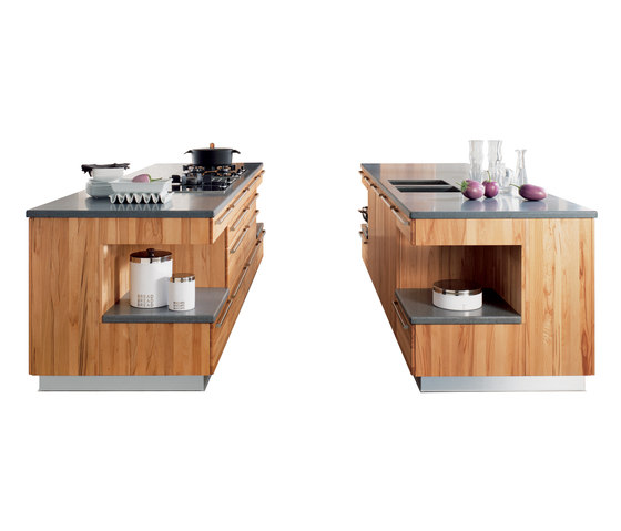 rondo cooking island by TEAM 7 | Island kitchens