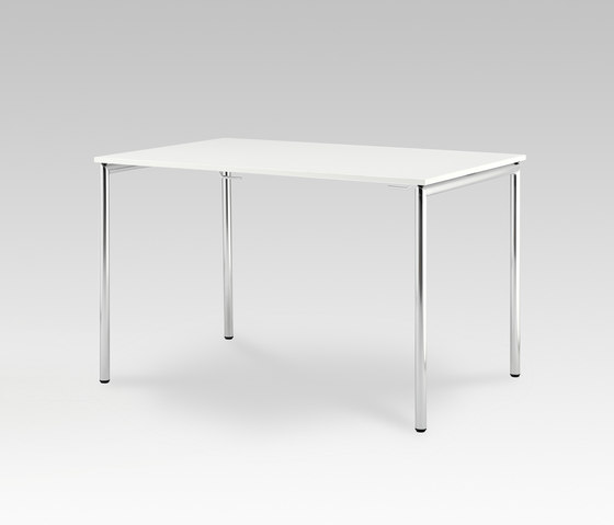 Usu table with tube legs by HOWE | Multipurpose tables