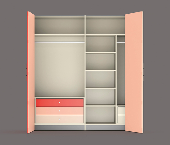 Wardrobe 1 by LAGRAMA | Cabinets