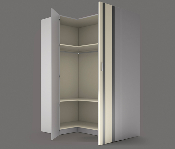Wardrobe 2 by LAGRAMA | Cabinets
