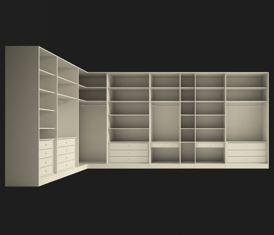 Walk-In Wardrobe 3 di LAGRAMA | Cabine armadio