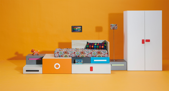 Composition 1 by LAGRAMA | Children's beds