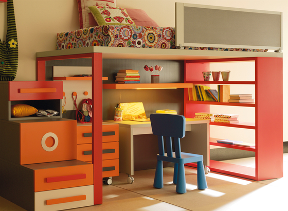 Composition 4 by LAGRAMA | Children's beds