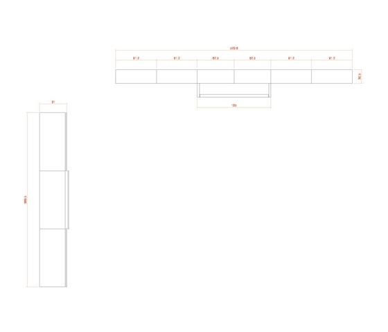 Composition 38 von LAGRAMA | Schrankbetten / Klappbetten