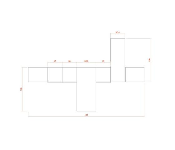 Composition 41 de LAGRAMA | Bureaux plats