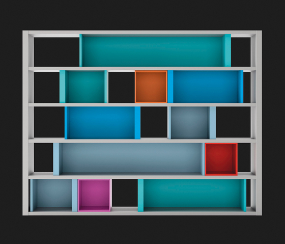 Composition 43 by LAGRAMA | Shelving systems