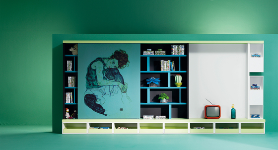 Composition 46 by LAGRAMA   Wall storage systems