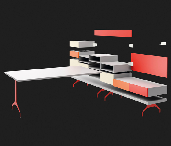 BLINKBOX system by LAGRAMA | Desks