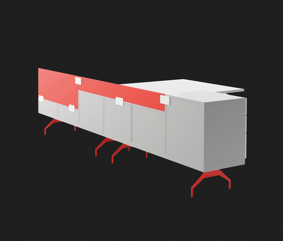 BLINKBOX system de LAGRAMA | Bureaux plats