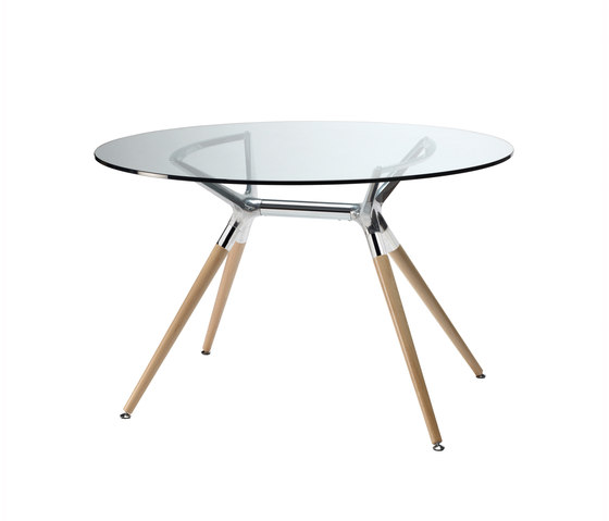 Natural Metropolis 120 by Scab Design | Dining tables