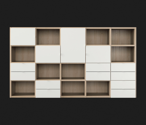AIRBOX system by LAGRAMA | Shelves