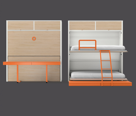 Folding bed by LAGRAMA | Children's beds