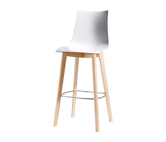 Natural Zebra Antishock stool by Scab Design | Bar stools